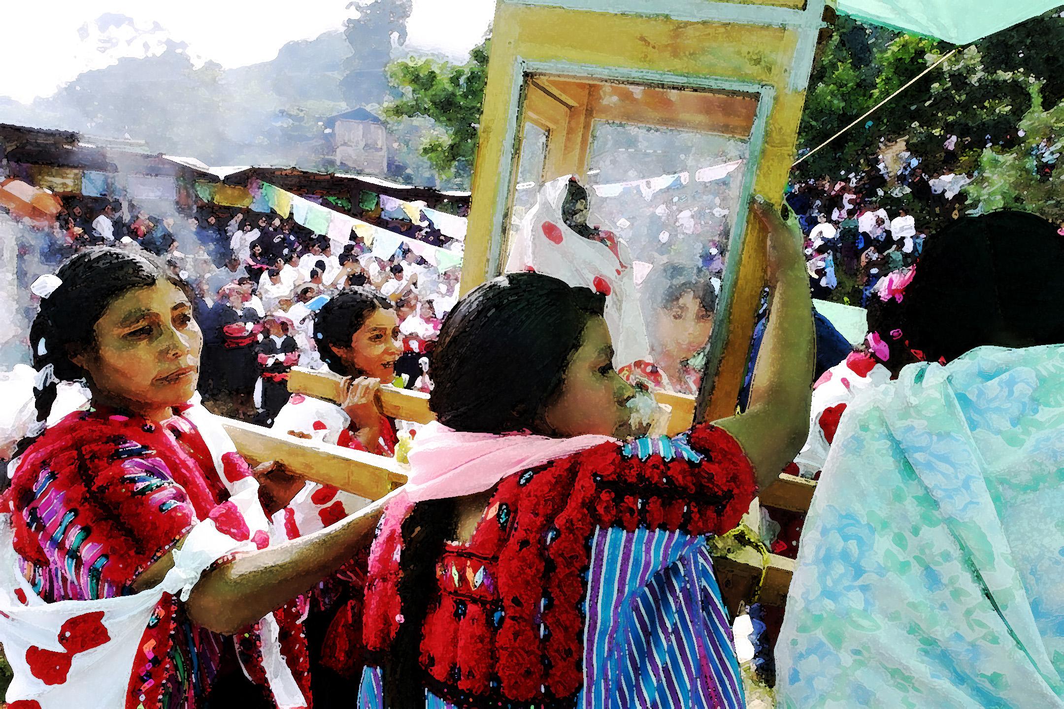 Acteal, La Virgen de la Masacre 2001