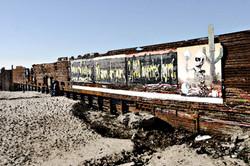 Border Wall Tijuana, 2004