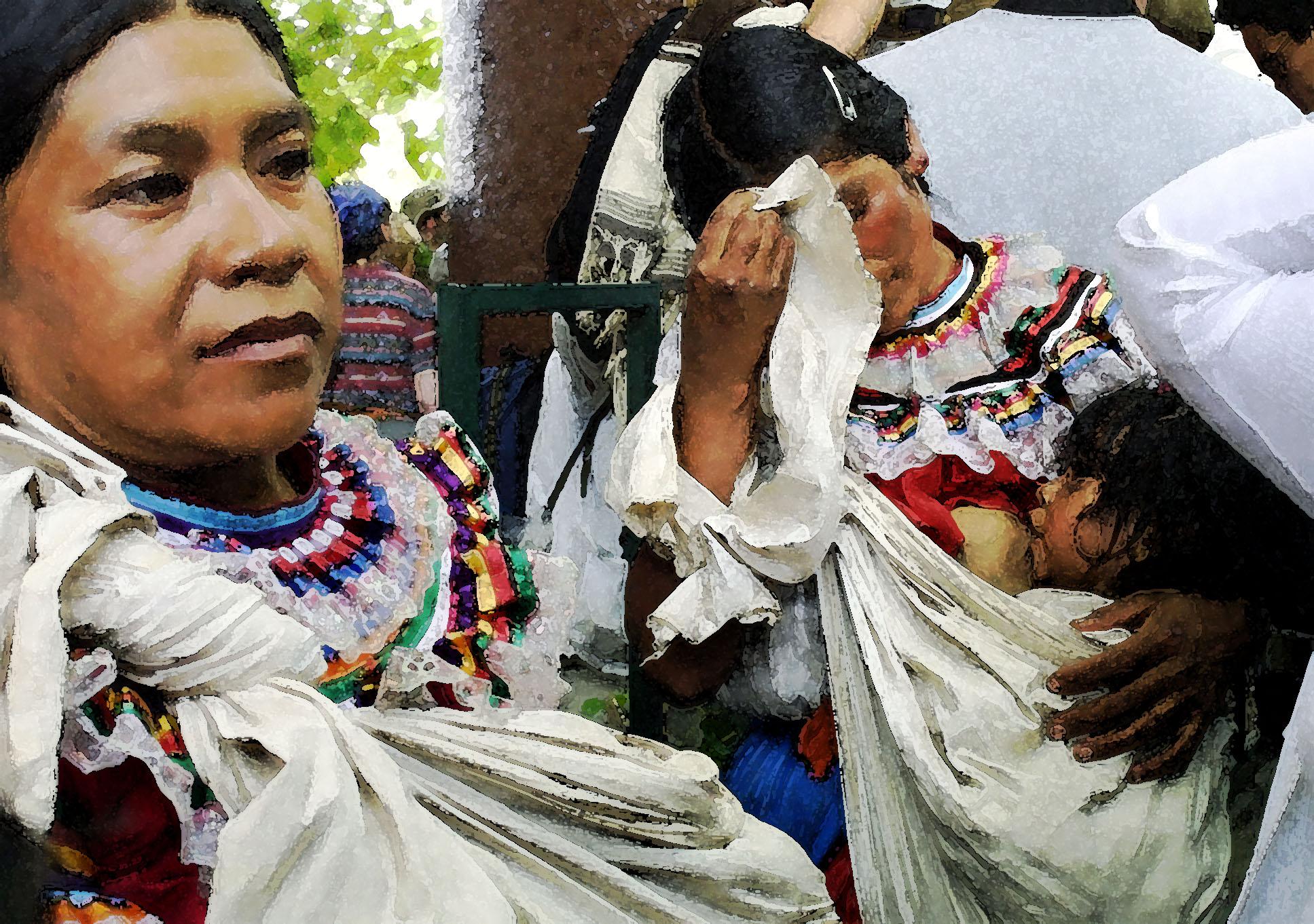 Indigenas en iguala marcha mil colores 2001