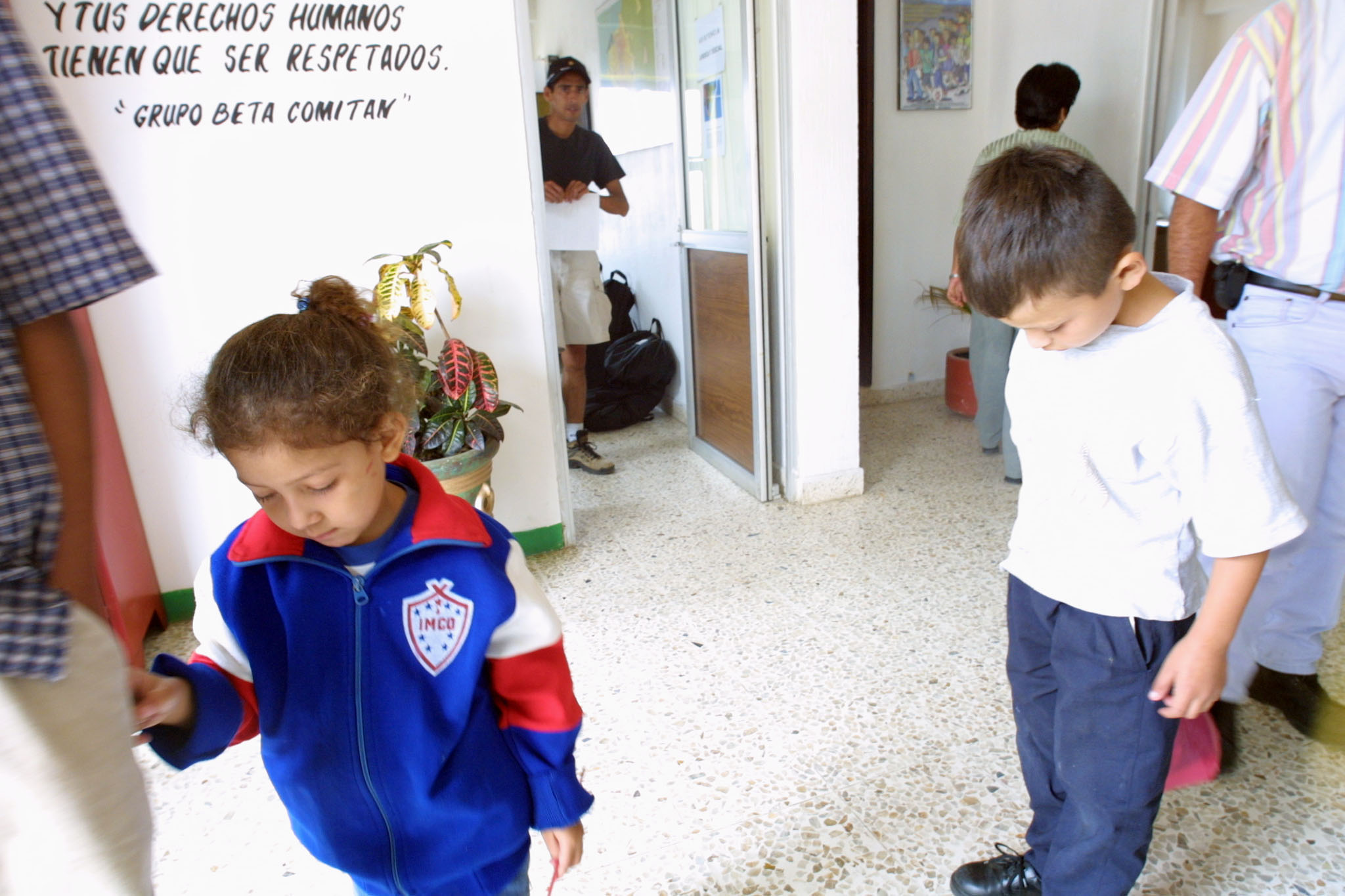 Miigrant children in Chiapas, AFP
