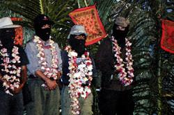 Juchitan, marcha mil colores 2001