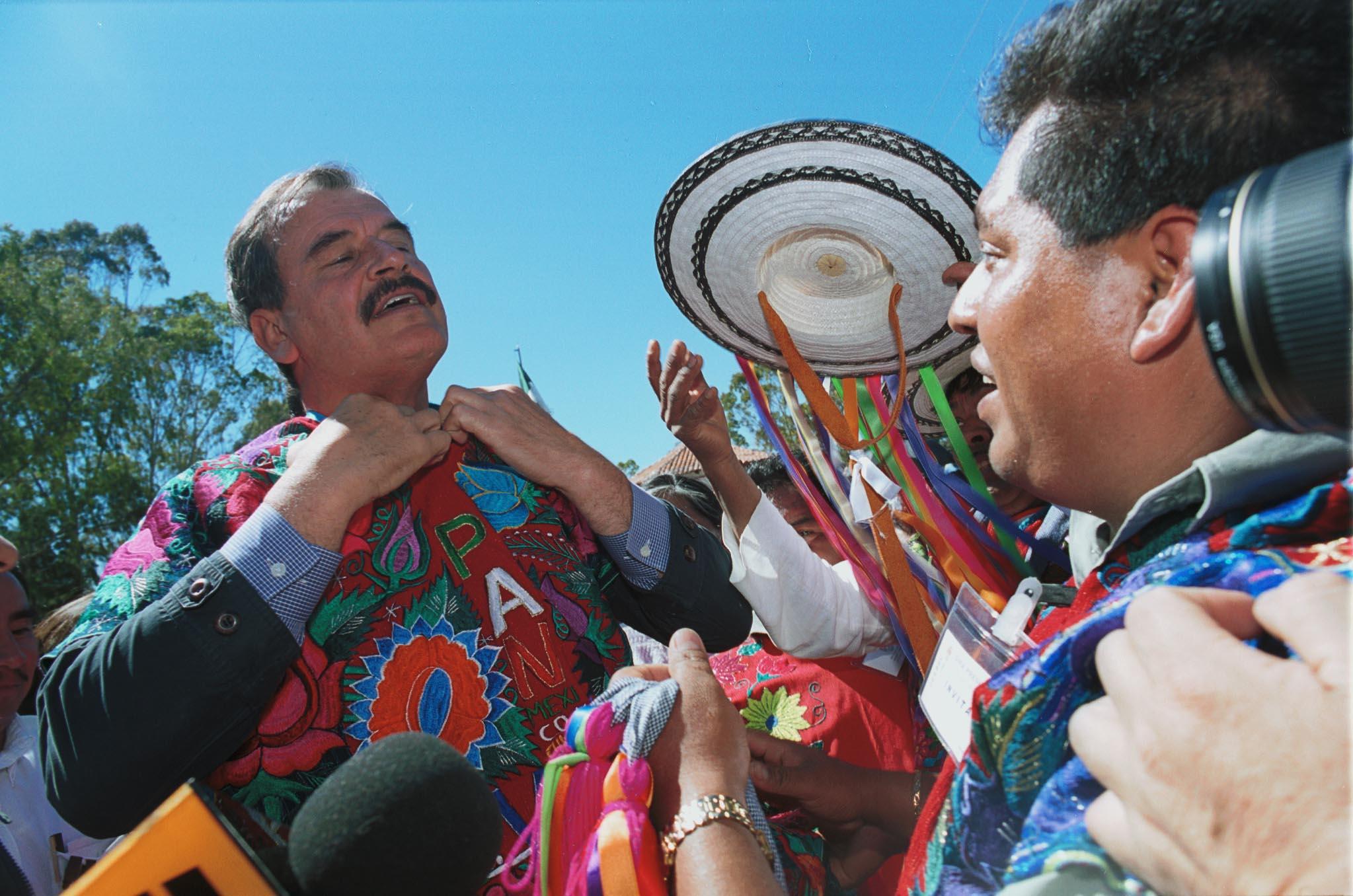 President Vicente Fox, AFP