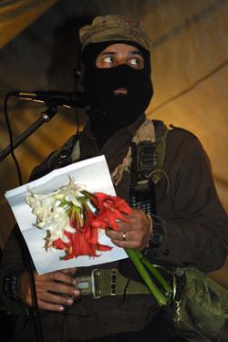 Subcomandante Marcos 2001, AFP
