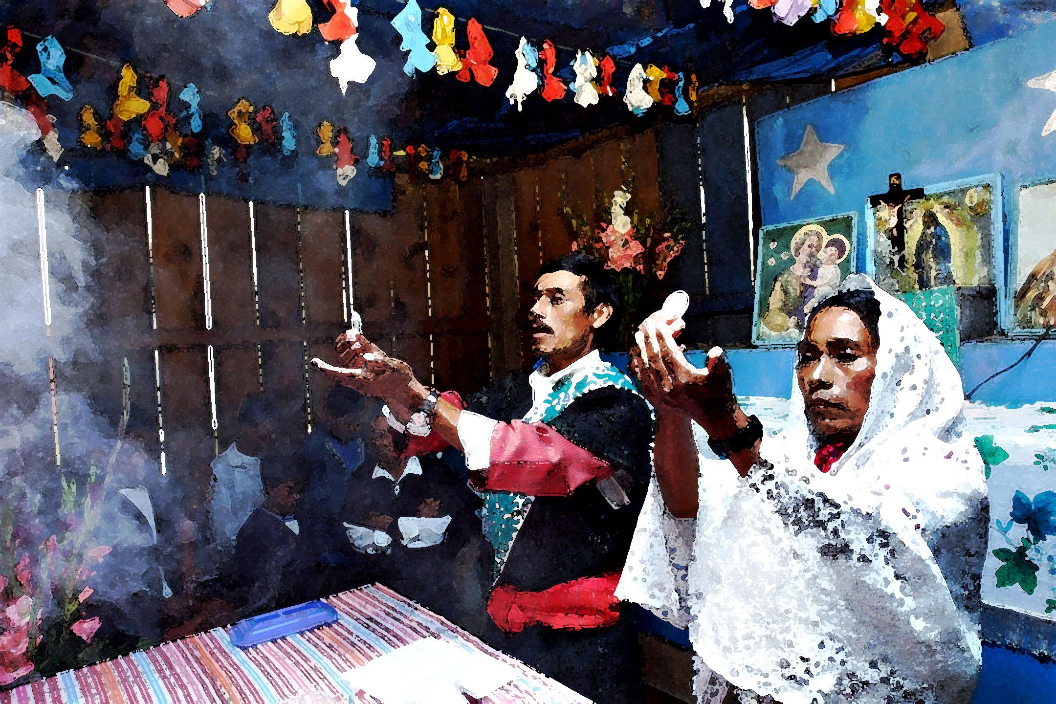 Communion Tsutsben San Andres, 2002