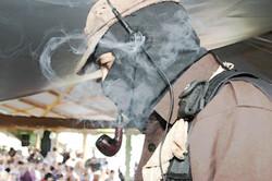 El Sup cubierto de humo, 2005