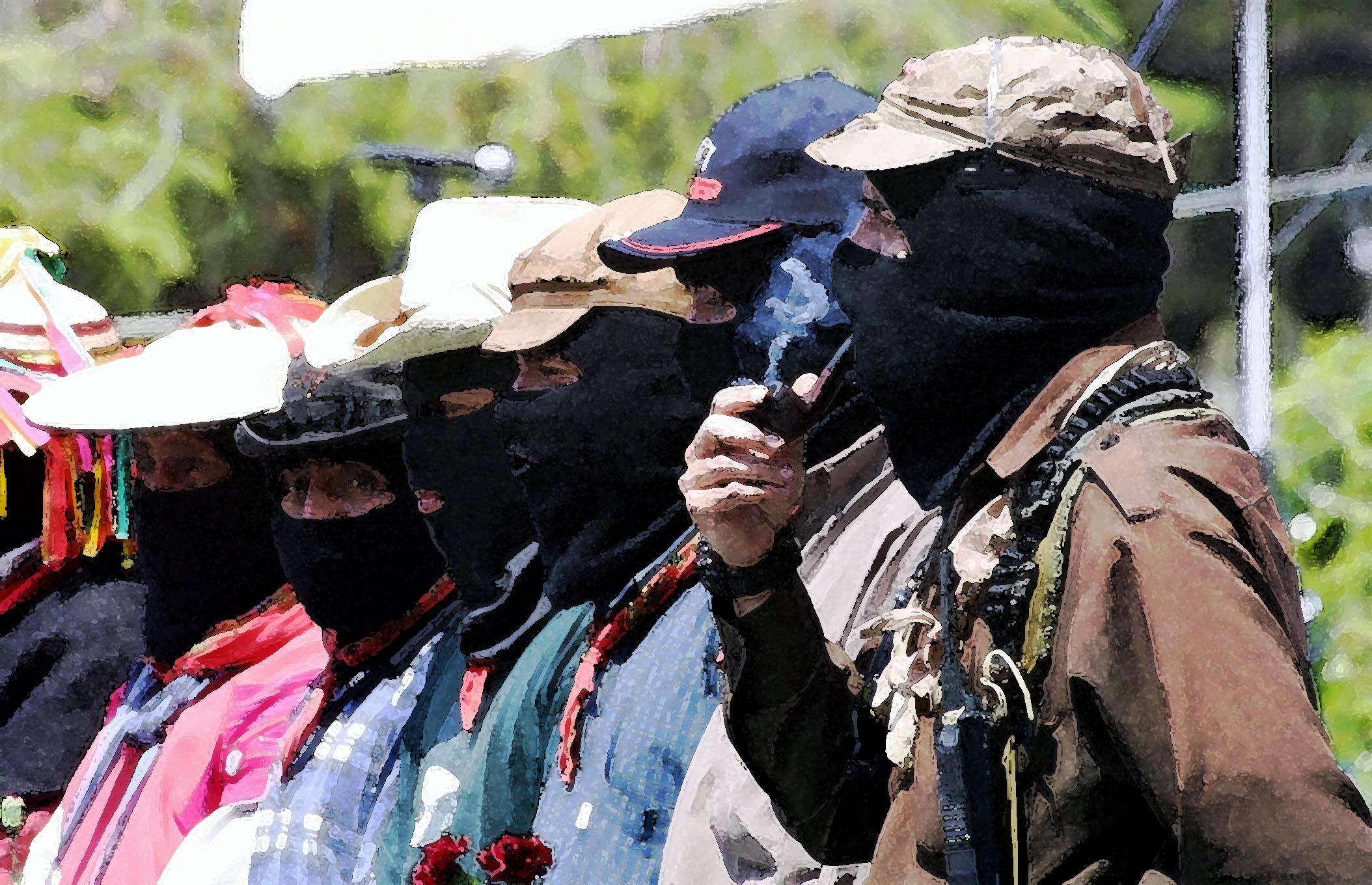 Comandancia EZLN, Iguala 2001