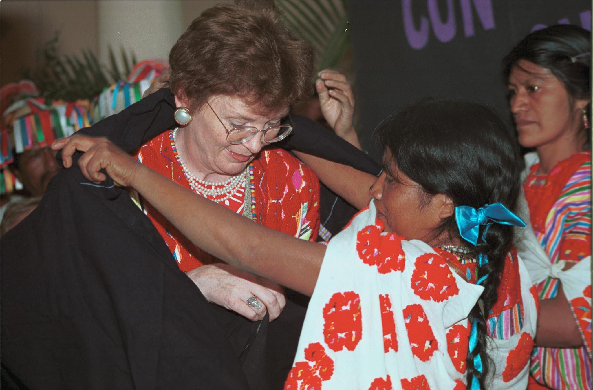 Mary Robinson, AFP