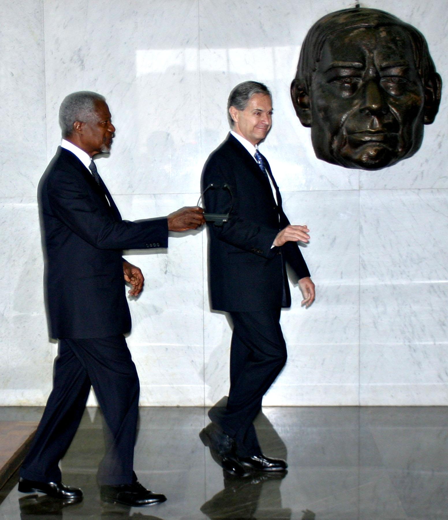 Latin American Democracy, Kofi Annan