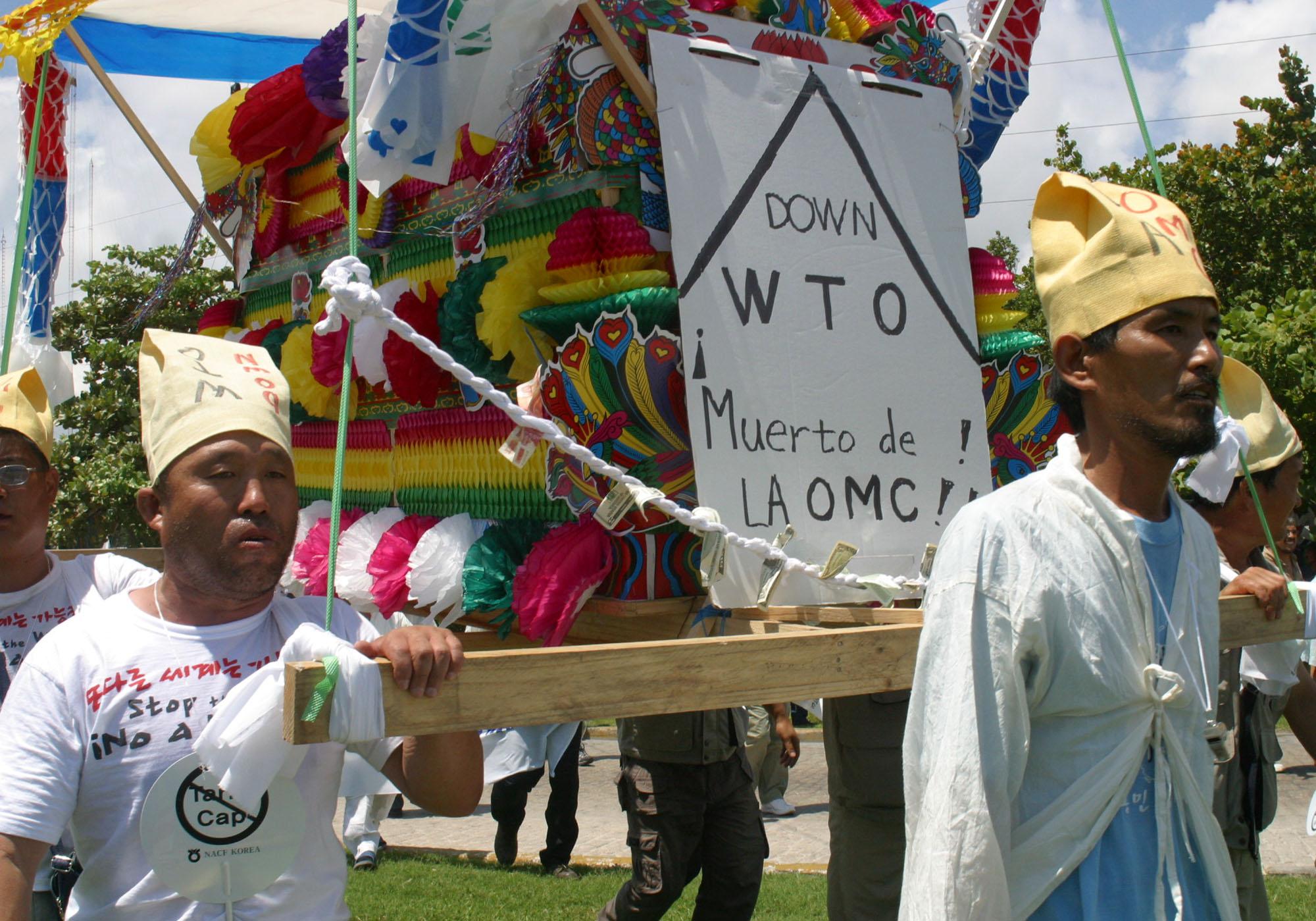 WTO Protest, Tribune News Service