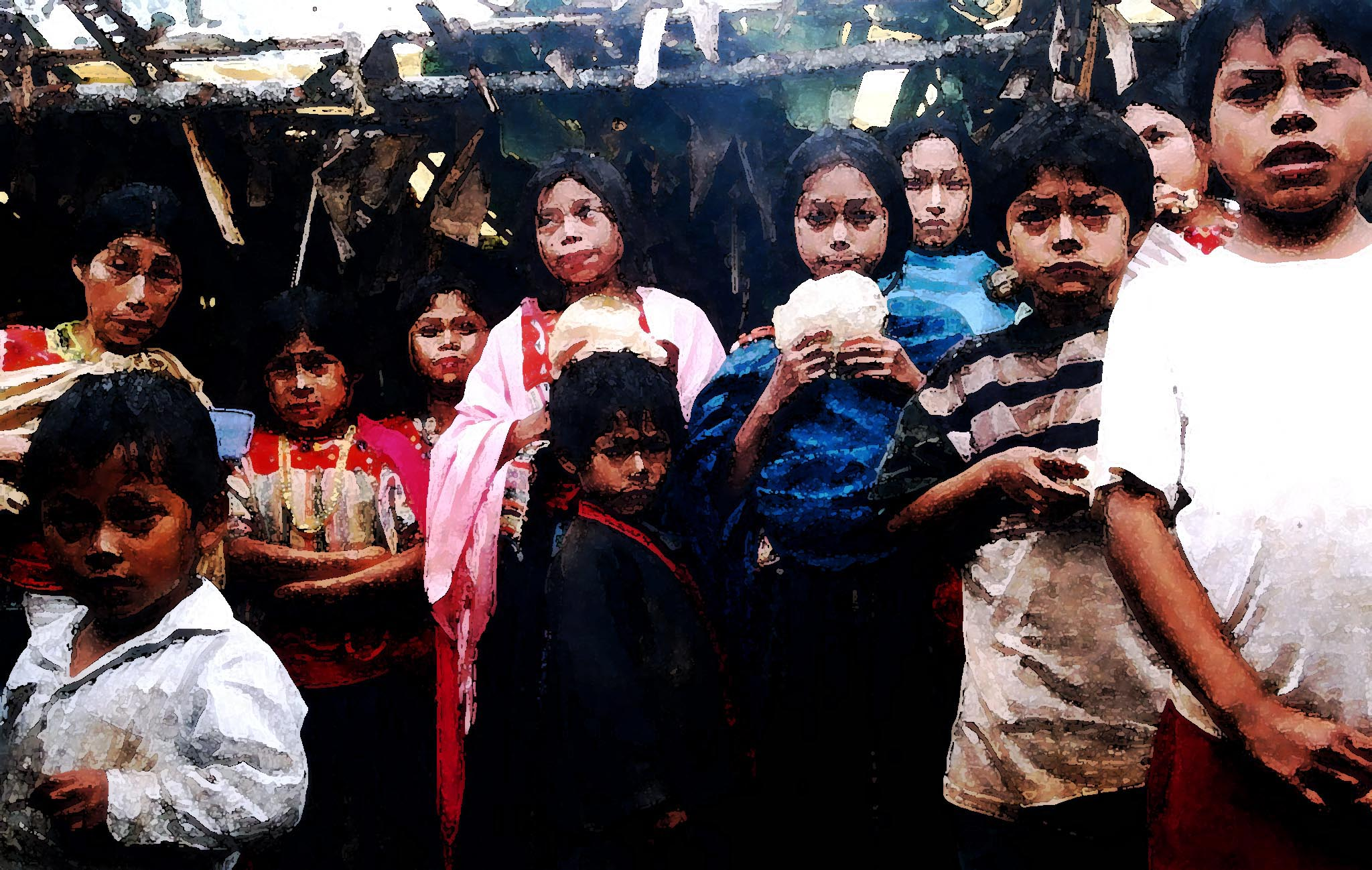 Desplazados en Xoyep, 1997