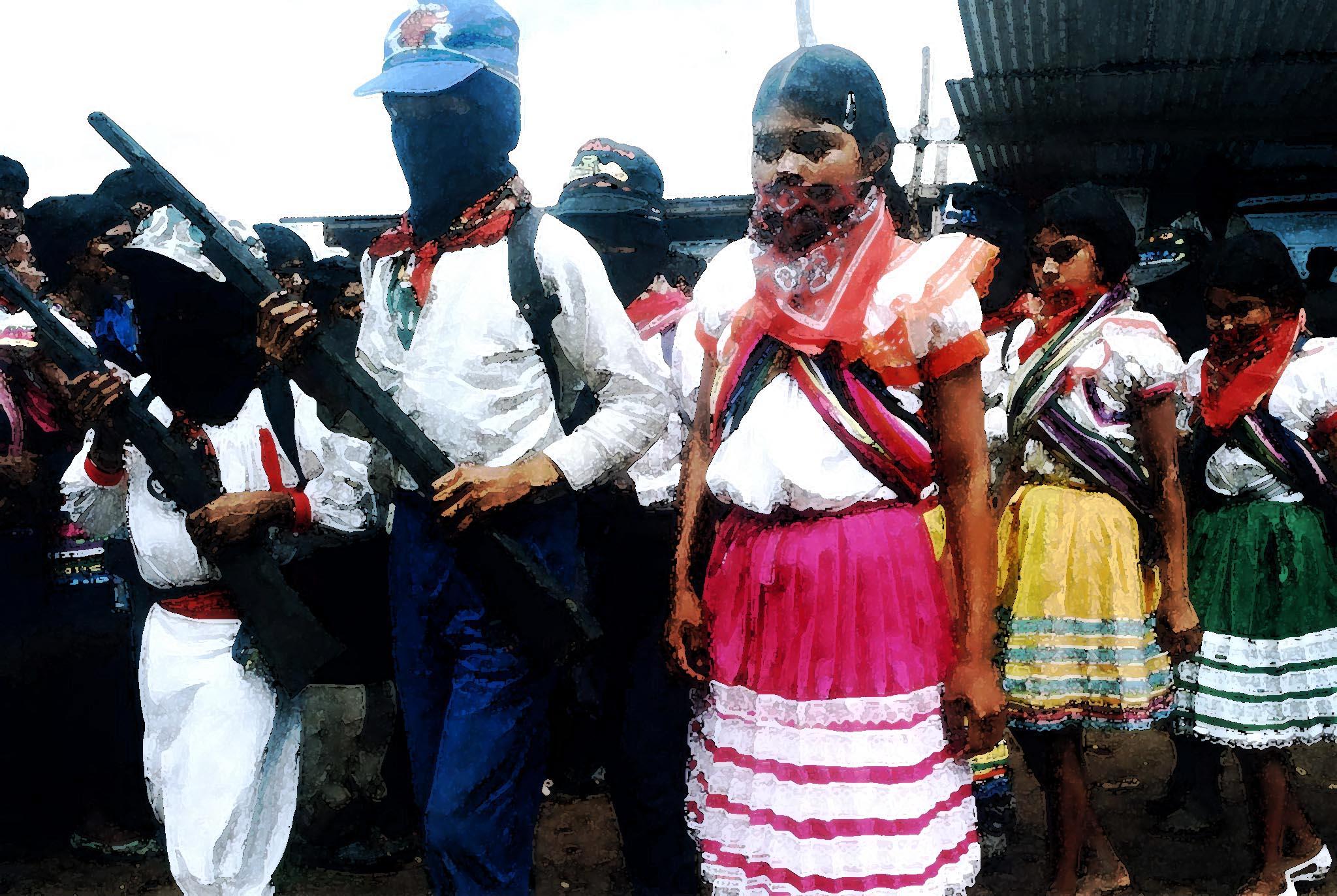 Jovenes zapatistas, 1997