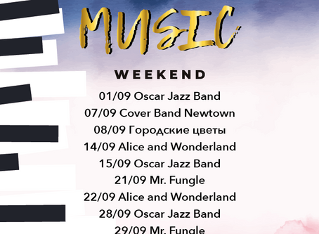 MUSIC WEEKEND