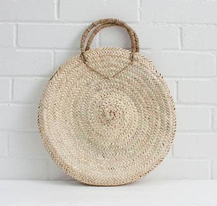 Boho Basket Bag