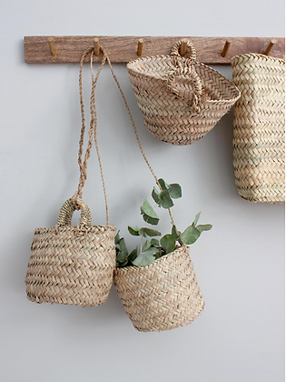 Rustic Plant Hanger Baskets