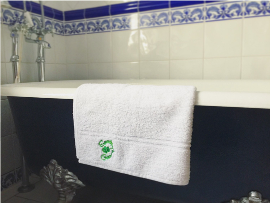 Luxury Natural EcoKnit Bath Towel