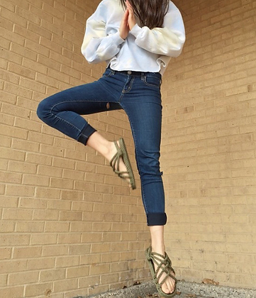 Hippy Rope Sandals - Sage