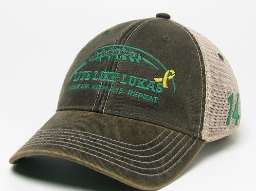 Green WUKAR Trucker Hat