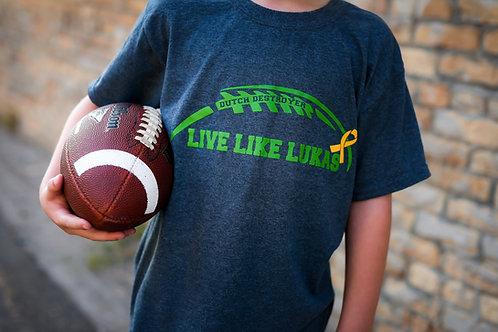Green Live Like Lukas Dutch Destroyer Kids T-Shirt