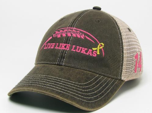 Pink LLL Trucker Hat