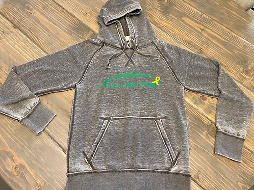 Green LLL Weathered Hoodie