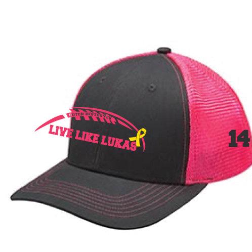 Pink Live Like Lukas Dutch Destroyer Hat