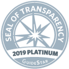 Guidestar 2019 platinum seal of transpar