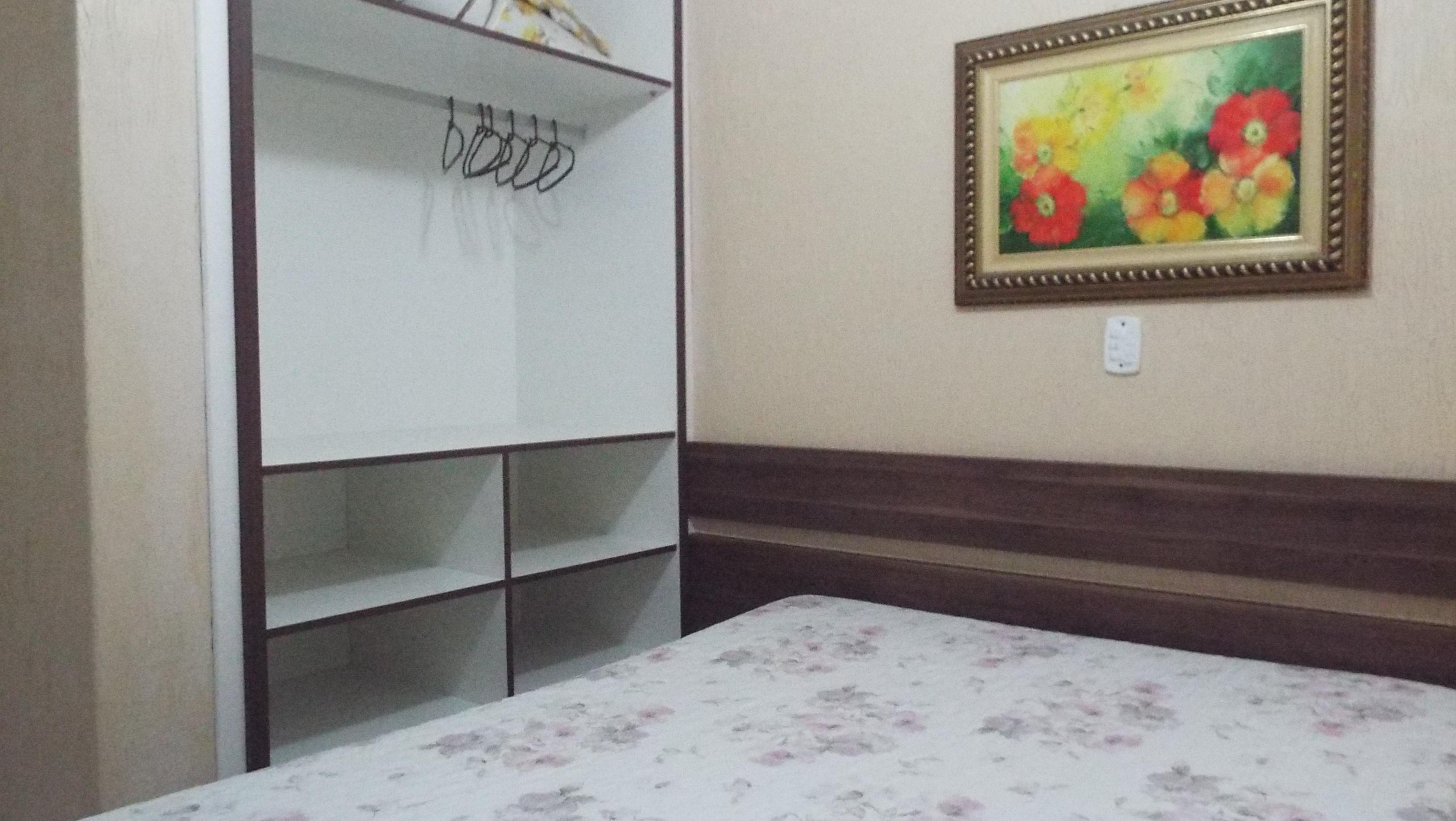 Dormitório de casal com split