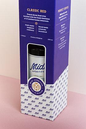 Midi Gift Box (1 bottle + 2 glasses)