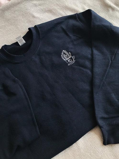 Navy Houseplant Sweatshirt
