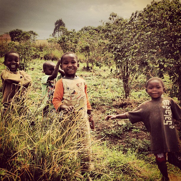 Kids in the DRC