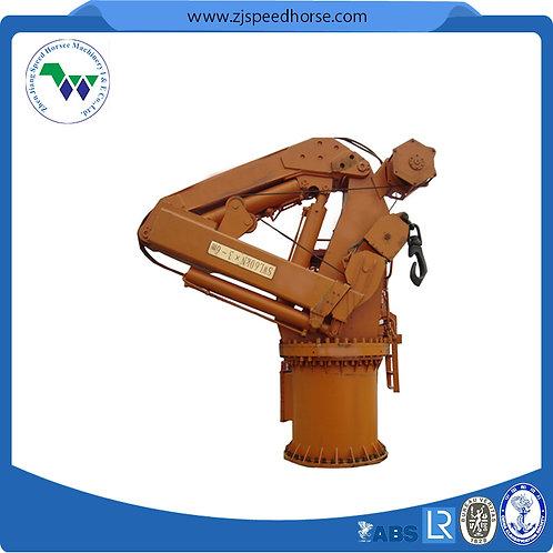Marine Telescopic Knuckle Boom Crane