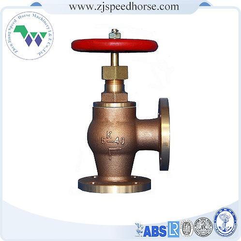 Bronze angle SDNR valve JIS F7352