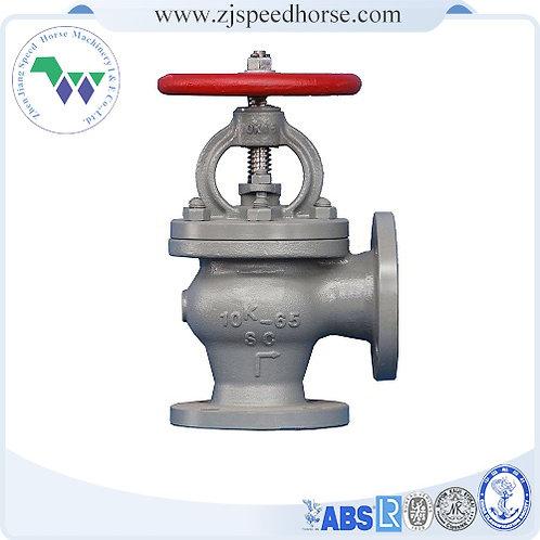 Cast iron angle SDNR valve JIS F7378