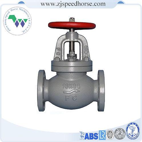 Cast iron globe SDNR valve JIS F7377