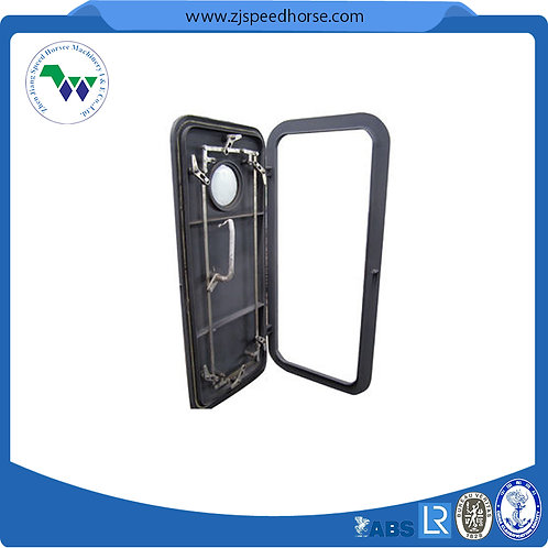 Vessel Steel Weathertight Door with Window