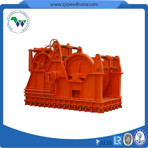 Hydraulic Waterfall Dual Drum Winch