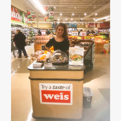 Food Demonstrations at Weis Supermarkets