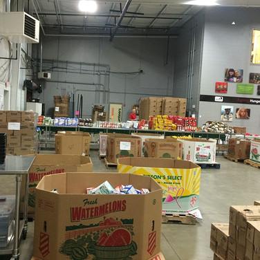 Volunteering at the Central Pennsylvania Food Bank