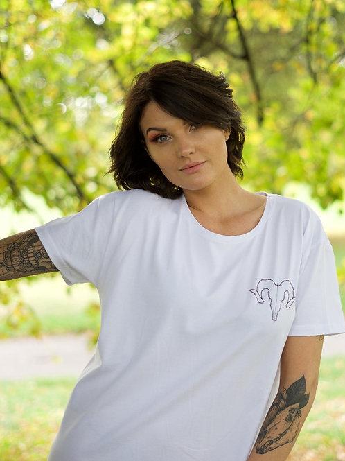 Women's Sideshow T-Shirt White
