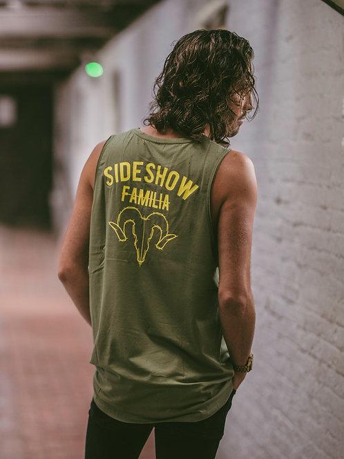 Sideshow Sleeveless Khaki