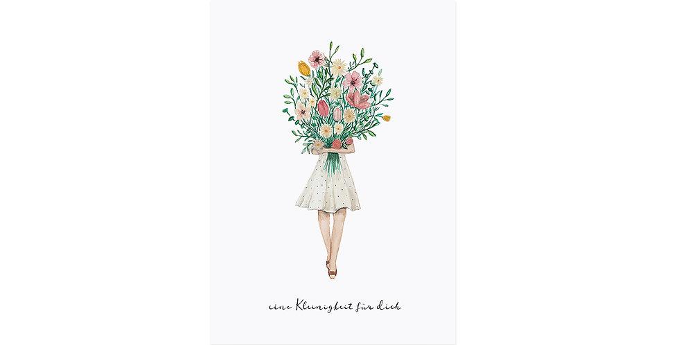 Postkarte Blumenstrauss