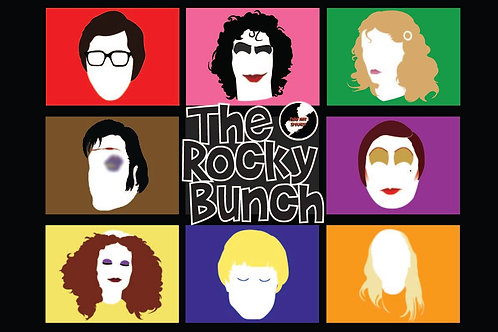 The Rocky Bunch Poster (11x17)