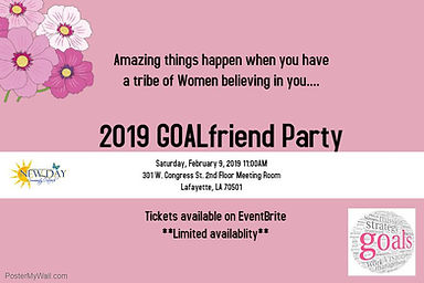 2019 Goalfirend Party