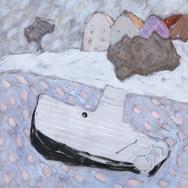 Amsterdam 98x87cm oil/canvas 2013
