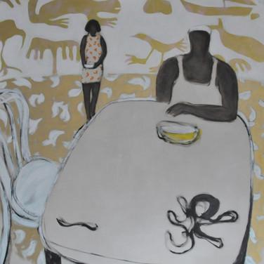 Casa del pintor 140x140cm oil/canvas 2017