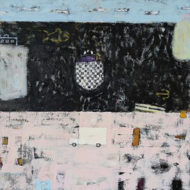 Porto Ercole 90x90cm oil/canvas 2015