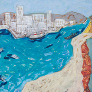 Portimao 90x90 oil/canvas 2014