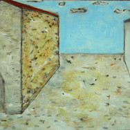 San Giovanni Valdarno - chiesa 27x33cm oil/canvas 2012