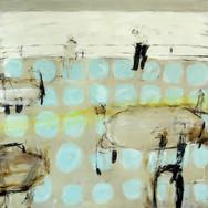 On Board 140x140cm oil/canvas 2015