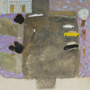 Lisbon 140x140cm oil/canvas 2017